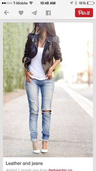 jeans boyfriend jeans ripped jeans streetwear fall outfits streetstyle