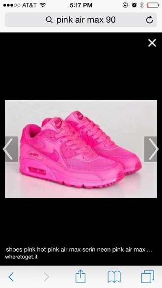 shoes airmax 90s pink nike air max 90 hyperfuse
