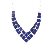 jewels,lapis necklace,women necklace,sterling silver,gemstone,jewelry