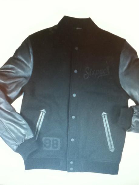coat teddy black leather american american baseball leather jacket baseball