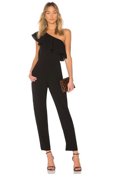 d352ecd884f Yumi Kim Cascade Jumpsuit in black - Wheretoget