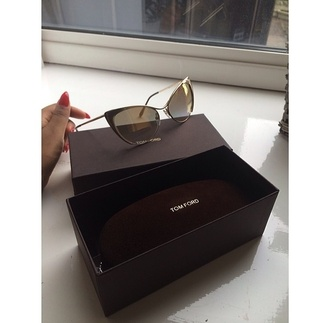 summer outfits sunglasses cateye sunglasses tom ford gold frame designer