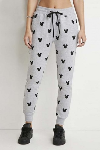 pants girl girly girly wishlist joggers cute minnie mouse mickey mouse joggers pants