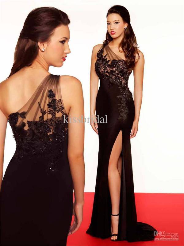 black prom dress prom dress prom gown evening dress evening dress evening dress evening dress 2014 prom dress 2015 prom dress 2014 evening gowns 2014 evening gown