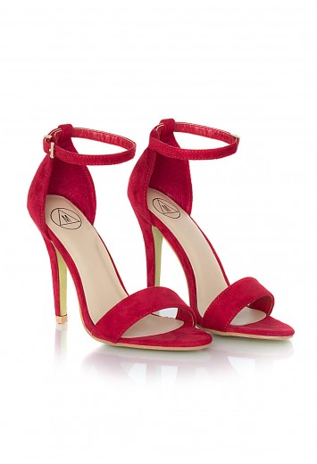 Kazumi Suede High Heeled Sandals - Heels - Shoes - Missguided | Ireland