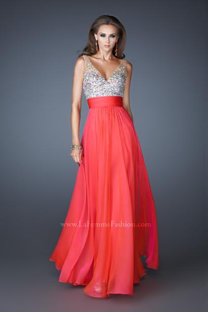 La Femme Prom Dresses 18669 at Peaches Boutique