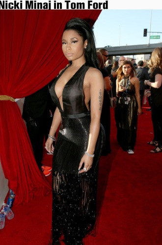 dress nicki minaj style nicki minaj collection nicki minaj black dress luxury celebrity style singer grammys 2015