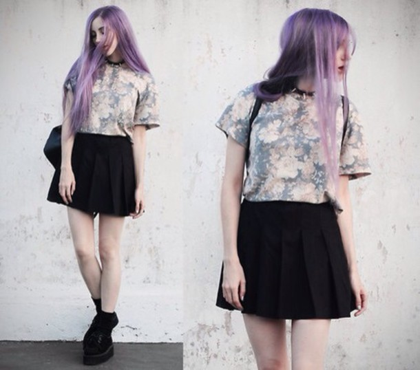 top jenn potter jenn ann | personal style & lifestyle blog - argentina blogger shirt skirt jewels