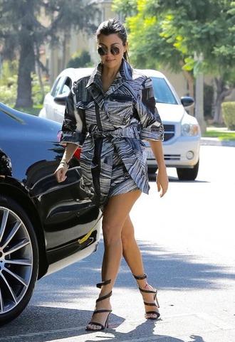 shoes sandals sandal heels kourtney kardashian style kourtney kardashian shirt dress shirt kardashians