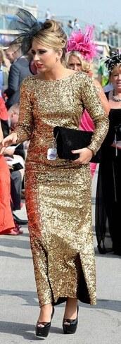 gold sequins,maxi dress,gown,dress,gold,long sleeve dress