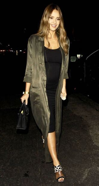 dress black midi dress midi dress jessica alba coat sandals