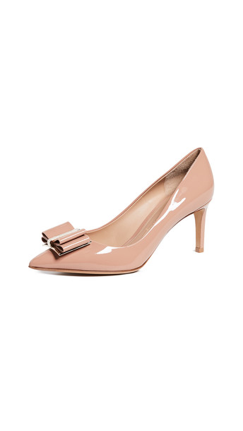 Salvatore Ferragamo Zeri 70 Pumps in blush