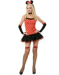7 naughty sexy minnie mouse costume