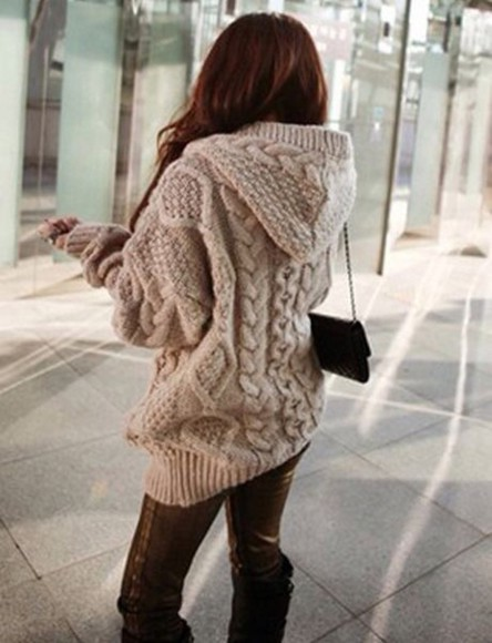 cardigan beige knitwear fall outfits knitted cardigan winter sweater