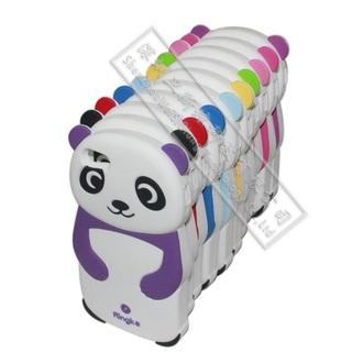 phone cover blue panda iphone 5c case