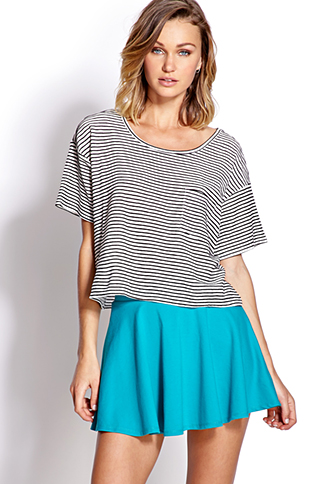 Must-Have Skater Skirt | FOREVER 21 - 2000090200