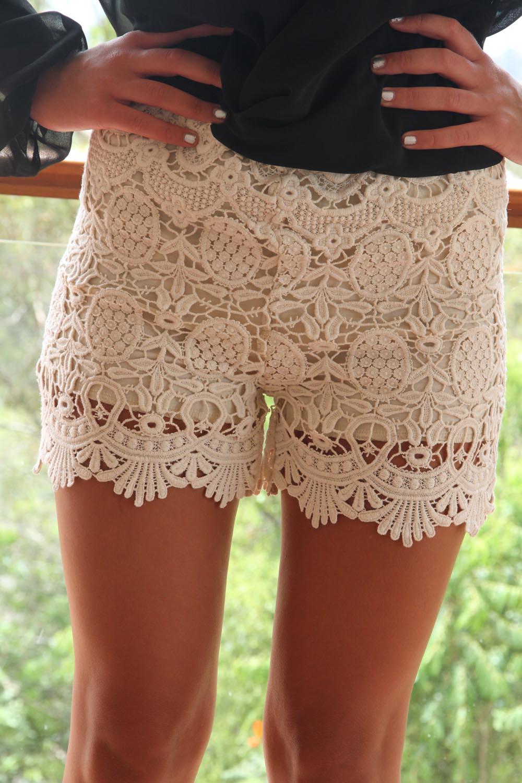 Sabo skirt  lace shorts