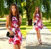 dress,skater dress,smoking hot,hot dress,mini dress,red dress