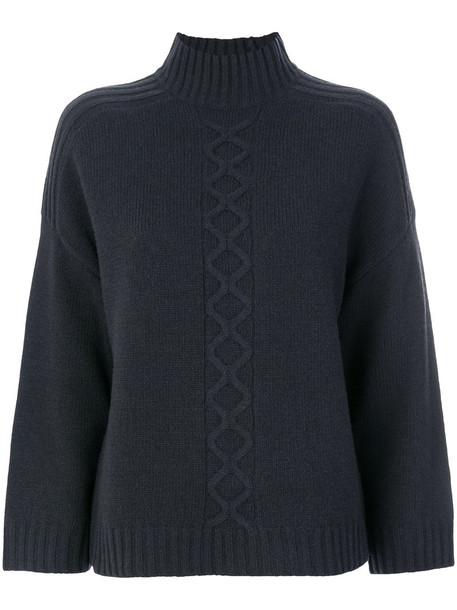 Goat - Elmore sweater - women - Nylon/Lambs Wool - 8, Grey, Nylon/Lambs Wool
