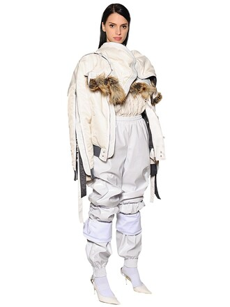 jacket bomber jacket white