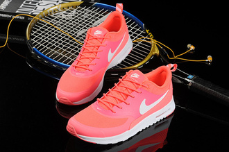 shoes nike nike running shoes pink neon