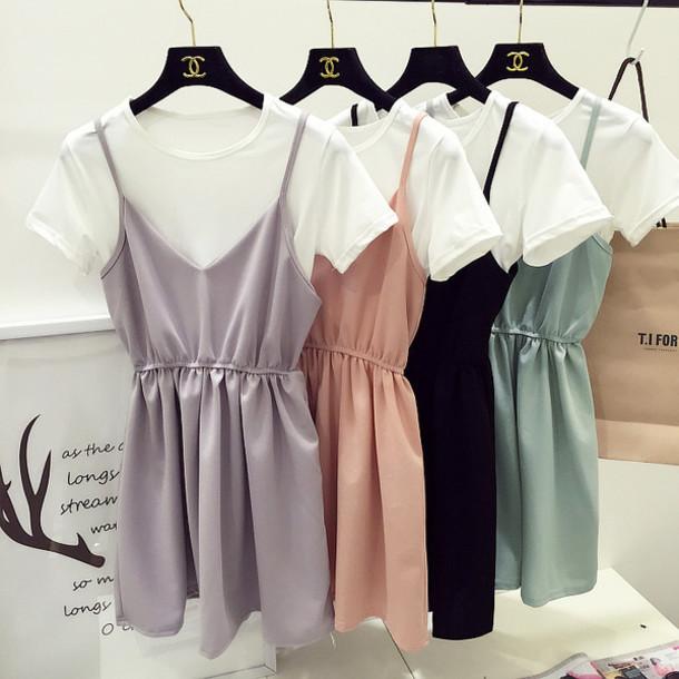 Skirt Korean Fashion Korean Style Korean Street Fashion Korean Street Style Pasetl Pastel