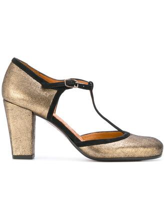 metallic women pumps leather grey shoes
