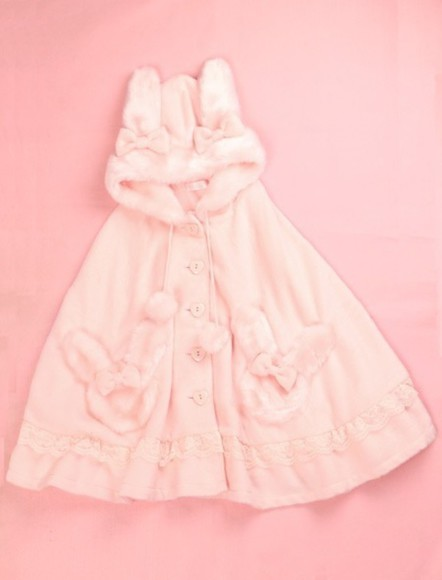 kawaii pink bunny girly