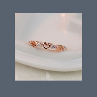 jewels ring heart promise ring rose gold ring rose gold jewelry engagement ring marriage