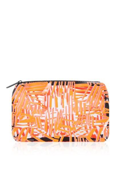 Topshop bag orange
