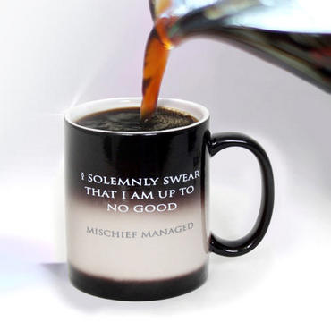 Harry Potter I Solemnly Swear...Mischief Managed Heat Transforming Mug - July 31st Shipment |