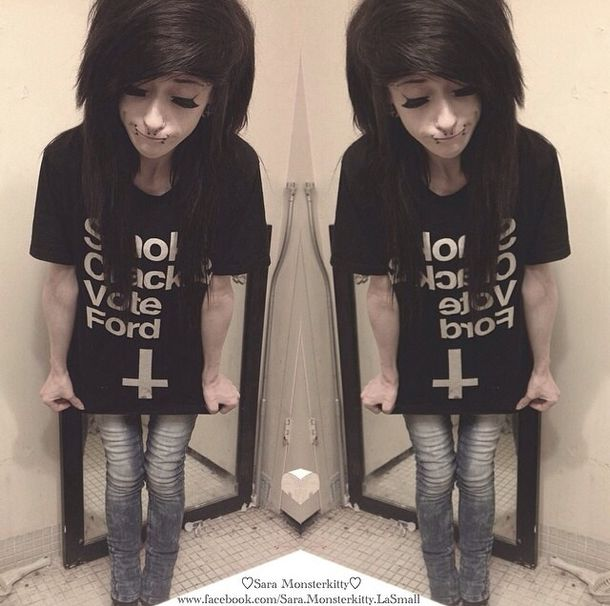 shirt dark depressing emo