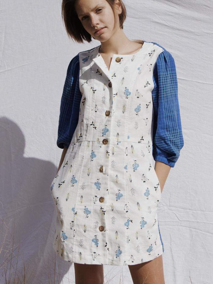 Meg Dress Patchwork