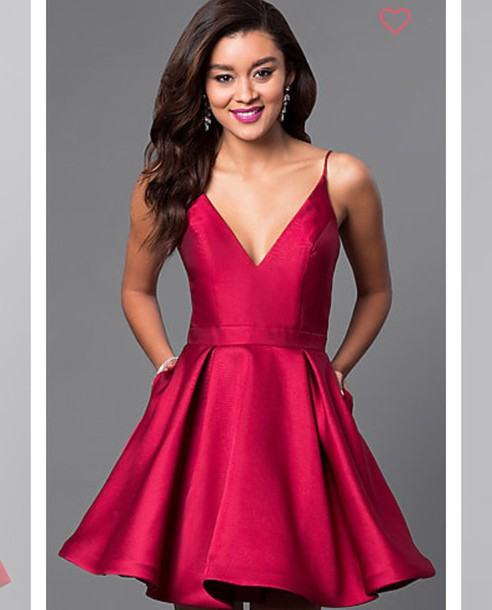 dress red dress party dress