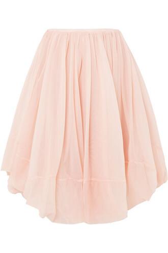 skirt tulle skirt pink