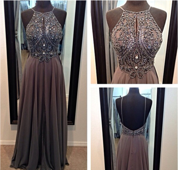 dress taupe mocha prom dress long dress long prom dress pants