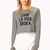 Street-Chic Cropped Sweatshirt | FOREVER 21 - 2000126294
