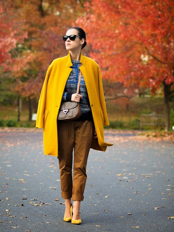 bittersweet colours coat sweater pants bag shoes