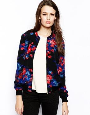 French Connection | French Connection - Shanghai Dream - Blouson aviateur chez ASOS