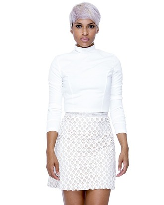 skirt lattice skirt lattice white skirt beige beige skirt