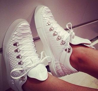 shoes giuseppe zanotti white