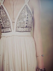 dress,maxi dress,white dress,sexy dress,v neck dress,embellished dress,sexy,free people,long prom dress