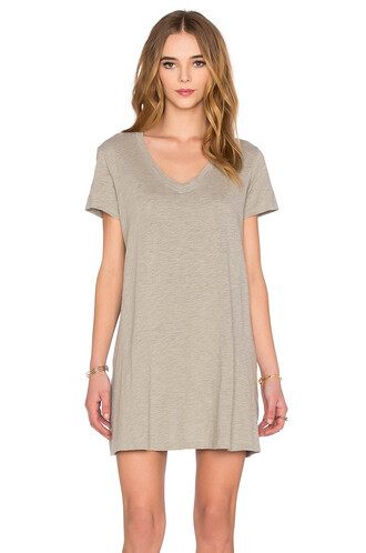 dress shirt dress v neck