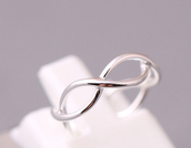 jewels,925 infinity ring,925 sterling silver