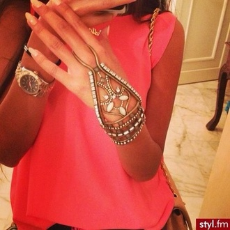 jewels braclet ring gold girly hot necklace