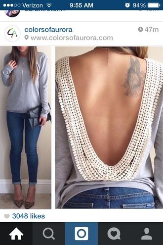 jewels fashion sweater