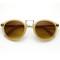 Vintage inspired round wayfarer frame sunglasses 8591