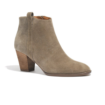 The Billie Boot in Suede
