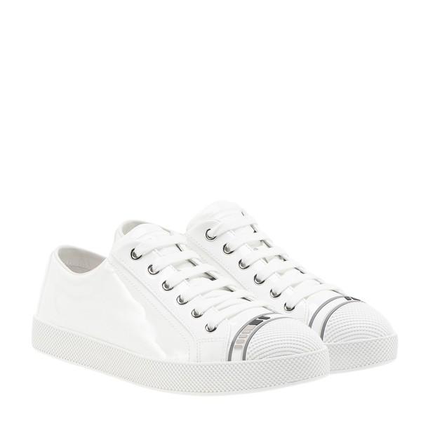 Prada Linea Rossa sneakers low top sneakers white shoes