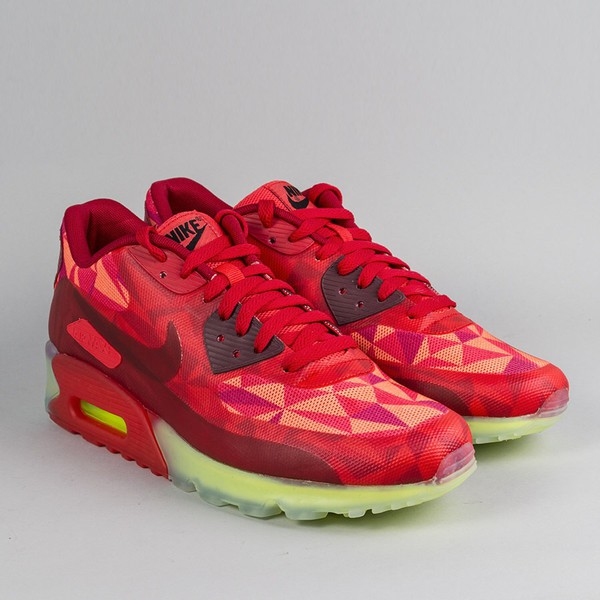 shoes red nike air max 90